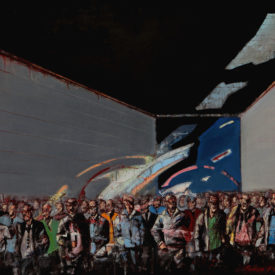 crowd80x115cm,oil on canvas, 2012